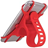 WeiMay Premium Bike Phone Mount Made of Adjustable Non-Slip Silicone - NEW: for All Modern Smartphones - Secure, Flexible Shock-Absorbant - Silico
