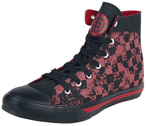 By e R Emp A Zapatillas Negro d rojo Red Eu37 Cuadros AxC1ZqwCd