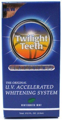 Crépuscule dents Platinum 25 ultraviolets Système de blanchiment accéléré