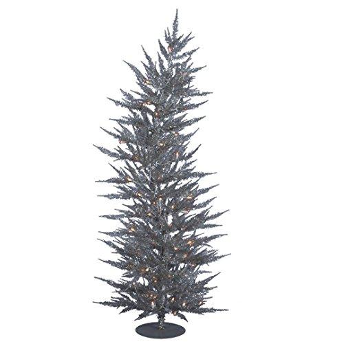 Vickerman B161731 Laser Tree with 445 PVC Tips & 50 Dura-lit Mini Lights, 3' x 17