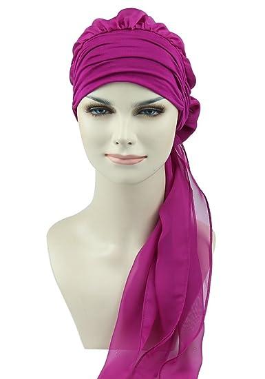 Hair Turbans Hats for Cancer Women Wig Cap Long Hair Headwear Head Wraps  Head Scarves bd2e71727410