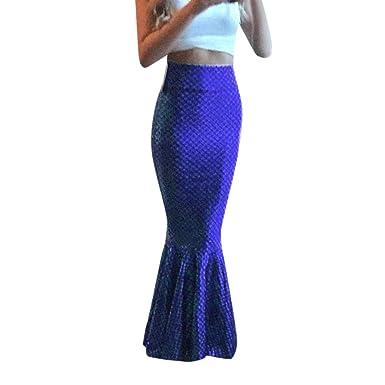 939533b7d0c Amazon.com: Usstore Women Sexy Mermaid Maxi Skirts Fashion Elegant ...