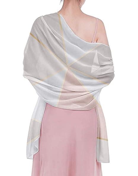 Amazon.com: Chal para mujer, elegante y a la moda, bufanda ...