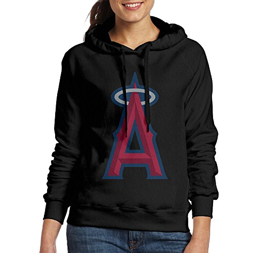 Victoria's Secret Angels Costume (ACFUN Women's Los Angeles Baseball Team A Logo Hoodies Size L Black)