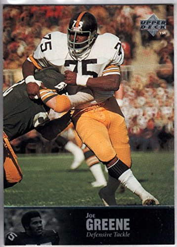 Greene Upper Deck - Football NFL 1997 Upper Deck Legends #35 Joe Greene Steelers
