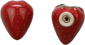2pcs Ceramic Knob,Vegetable Knobs,Fruit Knobs,Drawer Pulls,Cabinet Knob,Garden Knob,Kitchen Renovation,Children Room Cabinet Drawer Pull Knob