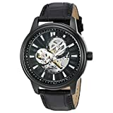 Invicta Men's 'Vintage' Automatic Stainless Steel Casual Watch, Color:Black (Model: 22580)