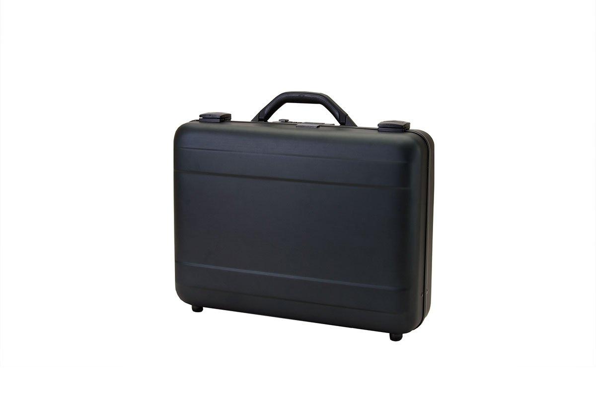 T.Z. Case International T.z Molded Aluminum Attache Case 18 X 13 X 5 in, Black