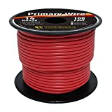 Grand General 55244 Red 100' 14-Gauge Primary Wire