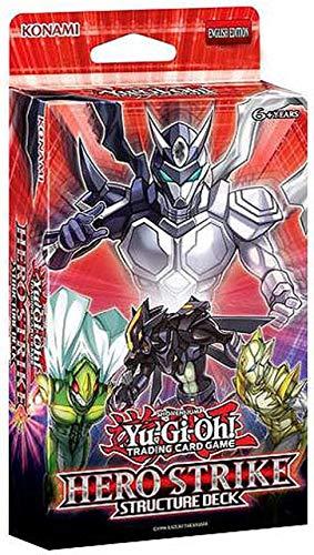 Yu-Gi-Oh! TCG: Hero Strike Structure Deck (Yugioh Hero Strike Elite Box Structure Deck)