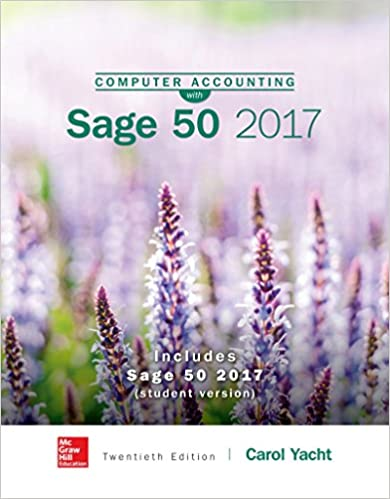 MP Computer Accounting And Sage 50 For Yacht 20th Edition