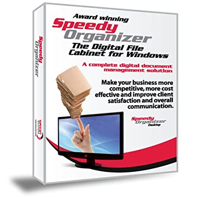 "Speedy Organizer ""The Digital File Cabinet for Windows"""
