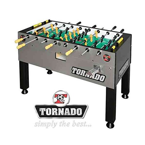 Tornado T-3000 Coin Foosball Table - 3 Goalies