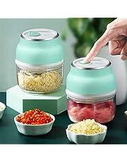 Elektrische Mini Voedsel Chopper Moer Vlees Gember Peper Fruit Ui Groente Elektrische Mini Voedsel Multifunctionele Grinder