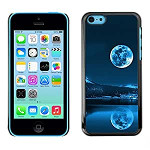 Cubierta de la caja de protección la piel dura para el Apple iPhone 5C - Space Planet Galaxy Stars 40
