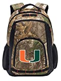 University of Miami Camo Backpack REALTREE Miami Canes Backpacks - Laptop Section!