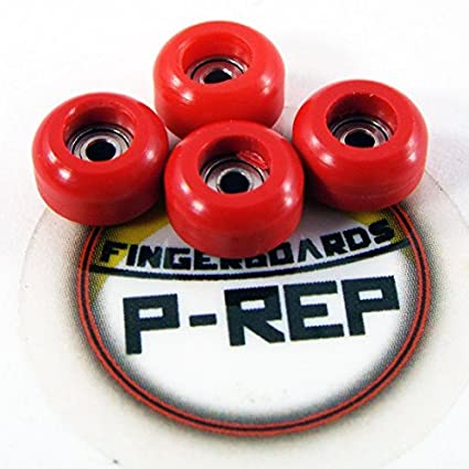 P-Rep Purple with CNC Lathed Wheels 32mm n.EXT Complete Wooden Fingerboard