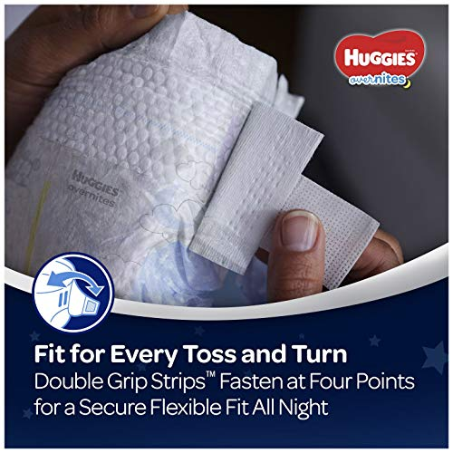 51ogvyjrO8L - HUGGIES OverNites Diapers, Size 6, 48 ct., Overnight Diapers (Packaging May Vary)