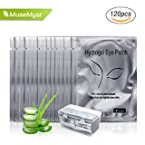 #5: 120 Pairs Set, Under Eye Patch by MuseMyst, Lint Free Lash Extension Eye Gel Pads for Eyelash Extension Beauty Tool Eye Mask