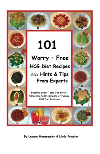 101 worry free hcg diet recipes plus hints tips from experts 101 worry free hcg diet recipes plus hints tips from experts linda prinster leanne mennemeier 9780983112419 amazon books forumfinder Images