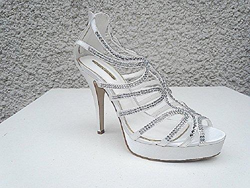 fashionfolie - Zapatos de Vestir de Lona Mujer