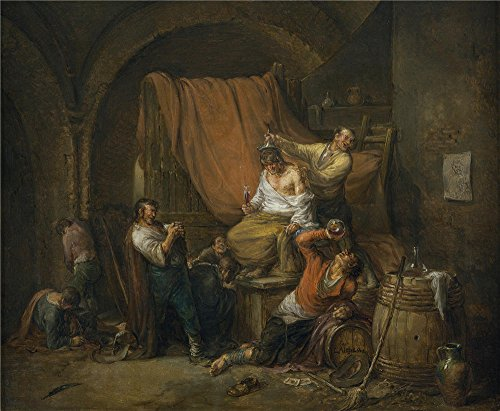 Oil Painting 'Alenza Y Nieto Leonardo El Triunfo De Baco 1844' 8 x 10 inch / 20 x 25 cm , on High Definition HD canvas prints is for Gifts And Hallway, Home Office And Home Theater Decoration, pop