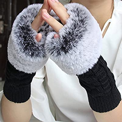 GAYY Gants femmes épaississement manches bras chaud