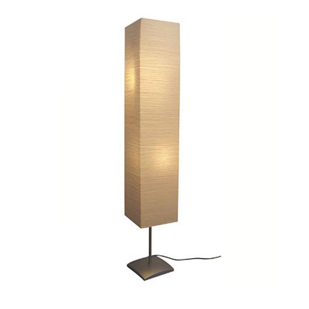 vidaXL Stehlampe 135cm Papierlampe Standleuchte Leselampe Stehleuchte Leuchte 14272