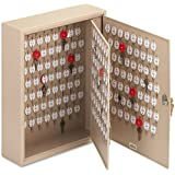 STEELMASTER Dupli-Key Two-Tag Cabinet for 240 Keys, 16.5 x 20.5 x 5 Inches, Sand (201824003)