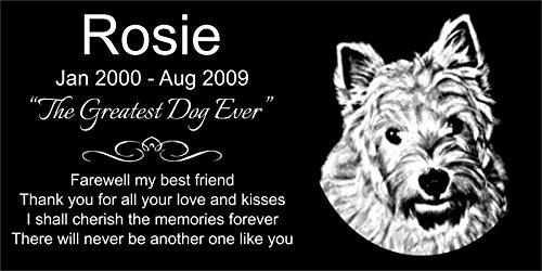 Personalized Highland Terrier Memorial Engraved product image