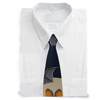 Corbata clásica de poliéster para hombre, diseño de Batman, color ...