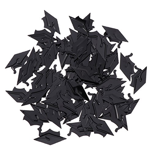 Confetti for Graduation Party Supplies Perfect Graduation Decoration for Grad Party (Doctoral Cap) -