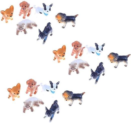 Casa de muñecas en miniatura 1//12th Escala Alimentos Para Mascotas-Perro O Gato