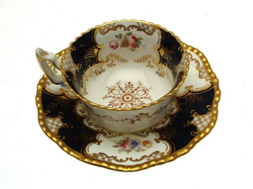 Blue Batwing Coalport Y2665 Cup and Saucer