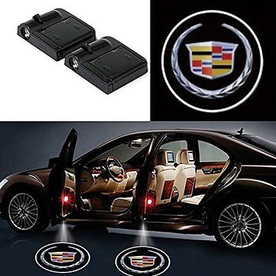 Wireless Ghost Shadow Door Projector Led Lights For Cadillac (Projector Shadow Light)