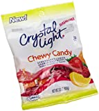 Sorbee Crystal Light Sugar-Free Chewy Candy In Assorted Fruit Flavors, 3.3-Ounce Bags (Pack of 6)