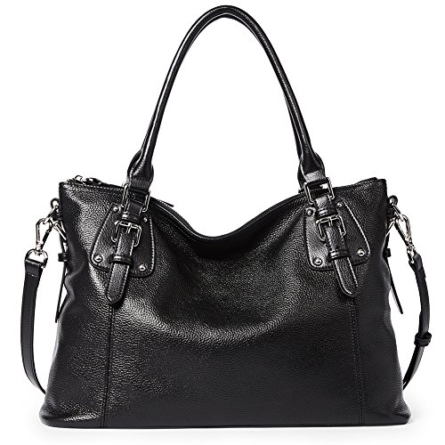 BOSTANTEN Women's Leather Handbags Tote Shoulder Purse Top-handle Crossbody Bag
