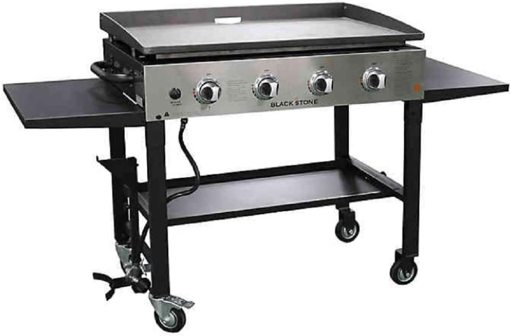 Blackstone 36 inch Outdoor Flat Top Gas Grill Griddle Hibachi Station 4-Burner