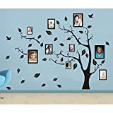 Delma(TM) 98'' x 71'' Huge PVC Wall Sticker Picture Frame Home Decoration Memory Family Tree Photo Vinyl Art Decal Livingroom D¨¦cor