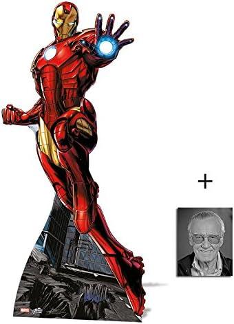 Fan Pack, diseño de Iron Man, diseño de silueta de cartón Standee ...