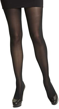 253e2b8c624 Plus Size 40 denier tights 16-20 (black extra long)  Amazon.co.uk ...