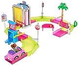battery barbie car - Barbie Car Wash Playset