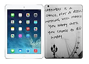 For Happiness Is A Choice Protective Case Cover Skin/ipad Air Case Cover