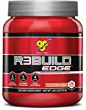 BSN R3Build Edge Post Workout Recovery Powder With Creatine, Glutamine and BCAAs, Strawberry Orange, 25 Servings