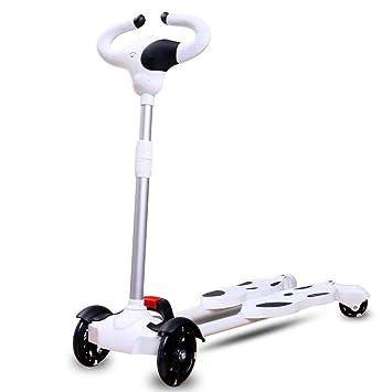ZLMI Andador para bebés, Scooter oscilante de 4 Ruedas con LED ...