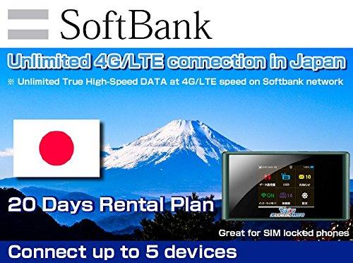 Unlimited Wifi Hotspot >> Amazon Com Softbank Sim Card 4g Lte Japan Mobile Wifi Hotspot
