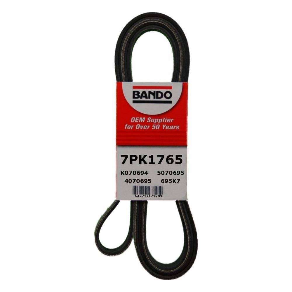Bando 7PK1765 OEM Quality Serpentine Belt by Bando USA