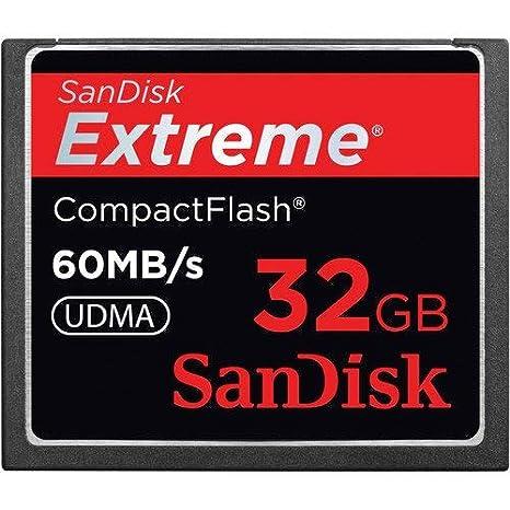 SanDisk - Tarjeta de Memoria SANDISK CompactFlash, 32 GB ...