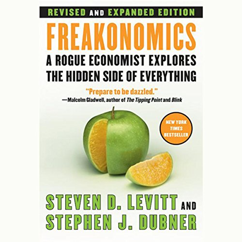 Freakonomics Audiobook by Steven D. Levitt [Free Download by Trial] thumbnail