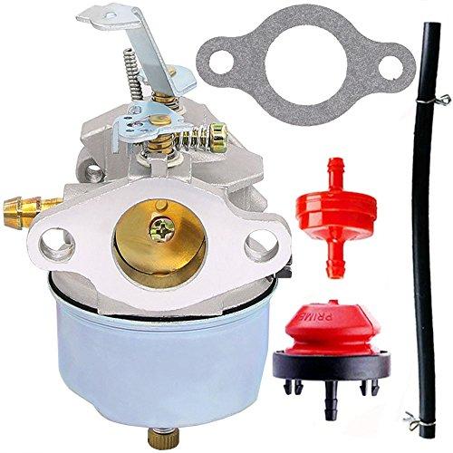 631793 Carburetor for Tecumseh 631793 631440 H70 H80 Snow Throwers 7HP 8HP 9HP Snow Blowers - 7HP 8HP 9HP 8HP Tecumseh Carburetor (631793) by HOOAI